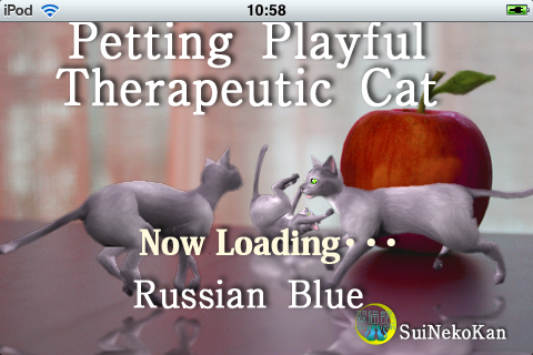 Screenshot Russian blue Petting cat 3D REAL